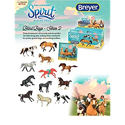 Breyer Spirit Riding Free Mystery Blind Bag - 3 Pack: Toys & Games