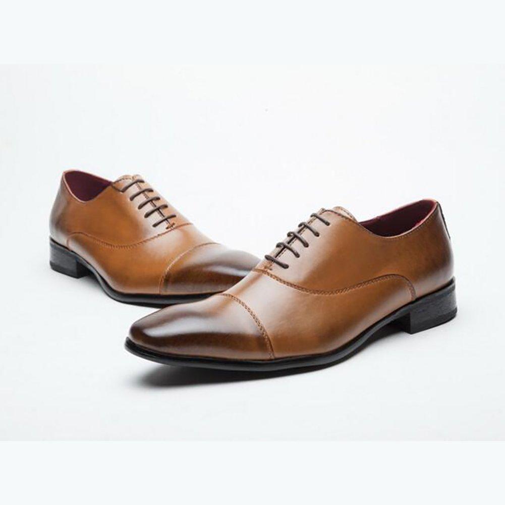 Qzny Leder Schuhe Herren Schuhe Geschäft Schuhe Herren Kleid Schuhe Leder Herren Schuhe Freizeitschuhe Formale Geschäft Arbeitsschuhe,B,44
