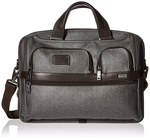 Grey Grey Tumi Earl Pass Alpha Screen Medium Laptop Brief Slim Grey 026516EG2 T Earl 2 gqqvwPH