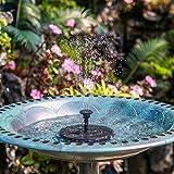 AISITIN Solar Fountain Pump , Solar Water Fountain