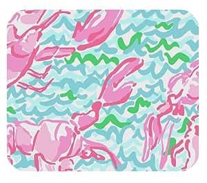 Lilly PULITZER Mar Impresiones langosta Patrón Customized Rectangle Mousepad