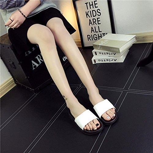 un in da con e bianco una pantofole una donne dispongono bagno fankou e bagno le scarpe da coppie Signor uomini nero cool una bianco casa piatta base elegante di 43 42 stanze vasca EBAqU