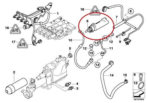 Genuine BMW E60 M5 Output Clutch Slave Cylinder 23017838938