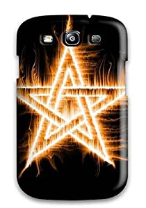 High Impact Dirt/shock Proof YY-ONE For Galaxy S3 (amazing Blessed Flame Star Fire)