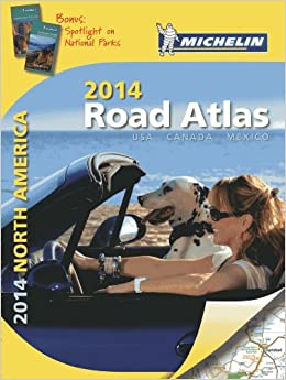 ;;DOC;; Michelin North America Road Atlas 2014 (Atlas (Michelin)). Royal cheap Special company things games fired