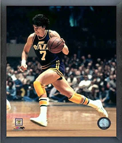Pete Maravich New Orleans Jazz NBA Action Photo (Size: 17