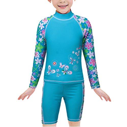 TFJH Girls Swimsuit Rainbow Printed product image