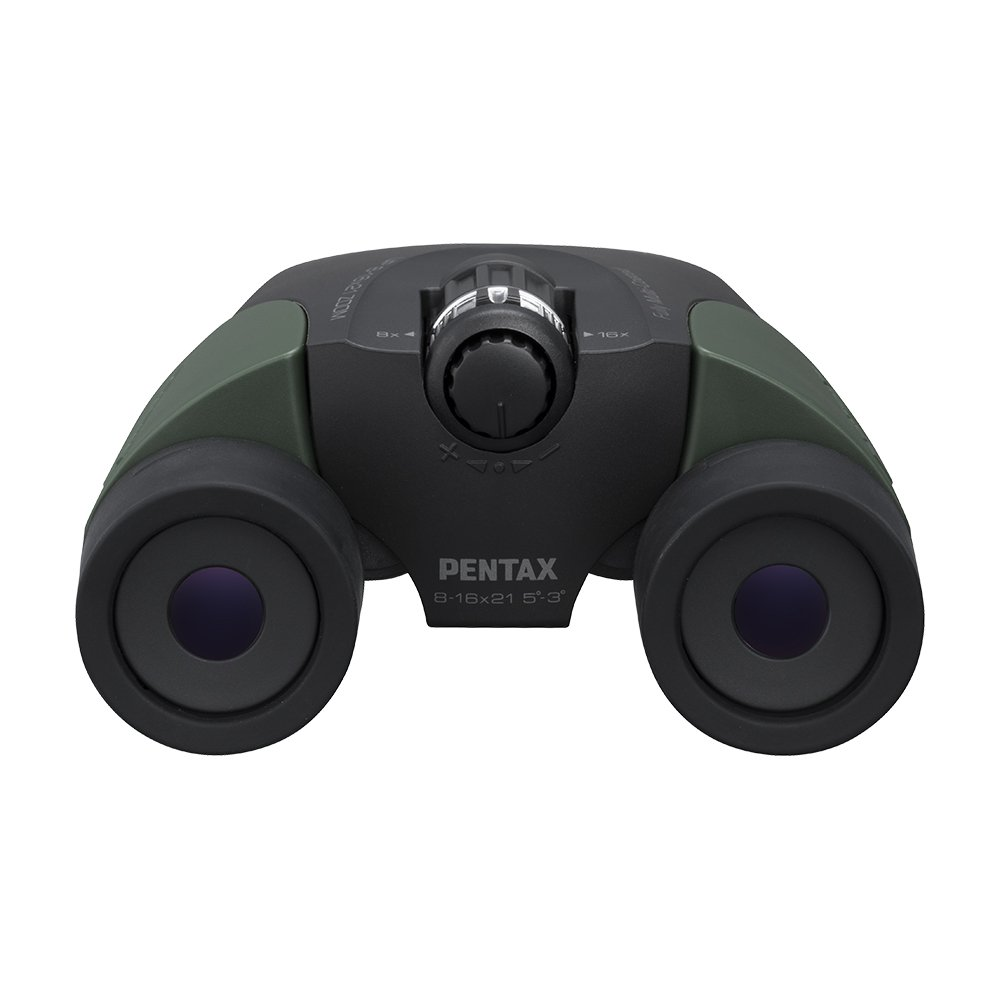 Pentax Up 8-16x21 Green Binoculars by Pentax