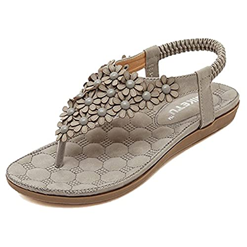 fdee079891b on sale Tidecloth Women s Low Heel Diamante Sports Sandals ...