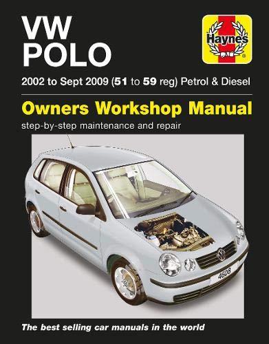 VW Polo Petrol & Diesel (02 - Sep 09) 51 To 59: Amazon.es: R. M. ...