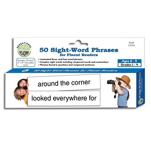 Sight Word Phrases for Fluent Readers