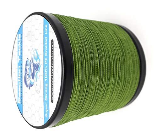 Reaction Tackle High Performance Braided Fishing Line/Fishing Braid