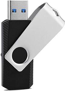 KEXIN USB 3.0 Flash Drive 32GB Transfer Speeds Up to 80MB/s Swivel USB Thumb Drives 3.0 Jump Drive Zip Drive USB Stick