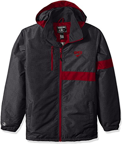 Ouray Sportswear Adult Men's Raider Jacket, Carbon Print/Scarlet, X-Large