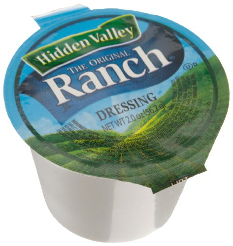 Hidden Valley Dressing Original Ranch, 2-Ounce Cups (Pack of 96) (Best Ranch Dressing In The World)