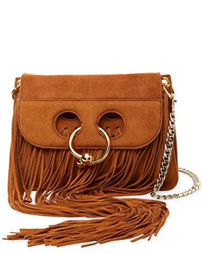Anderson Crossbody Fringe Pierce Mini Suede J W 6aqf1O