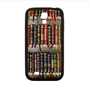 Best Seller - Personalized Bookshelf Design Samsung Galaxy S4 I9500 TPU (Laser Technology) Case, Cell Phone Cover
