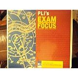 PLI's Exam Focus Patent Bar Review Study Guide 2013 3 ring binder full