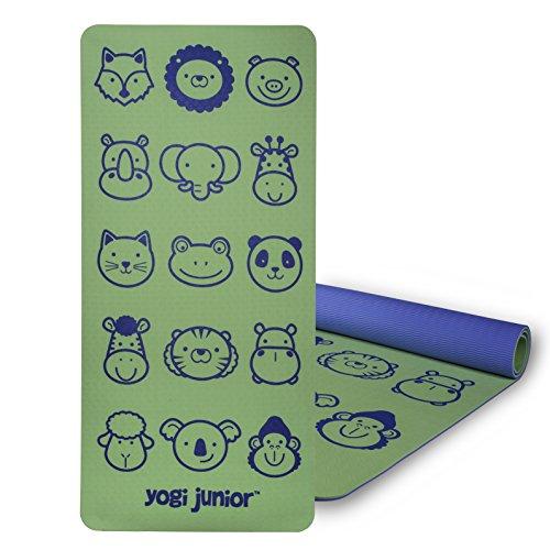 Baby Yoga Mat (Yogi Junior Kids Yoga Mat - PVC Free - Double Layered TPE Foam)