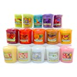 Yankee Candles – Pack di 15 candele profumate in cera senza punta,  Design tortine