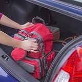Family Prep Emergency Survival 72 Hour Kit, 2 Person and 4 Person Available, Emergency Zone Brand (4 Person)
