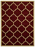 Ottomanson Paterson Collection Contemporary Moroccan Trellis Design Lattice...