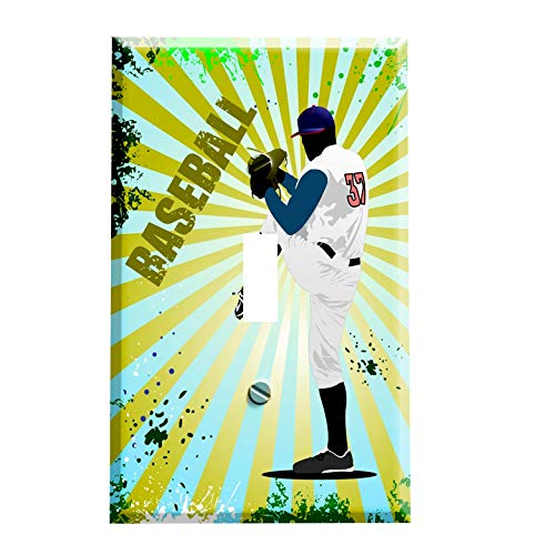 Baseball Switchplate - Switch Plate Cover