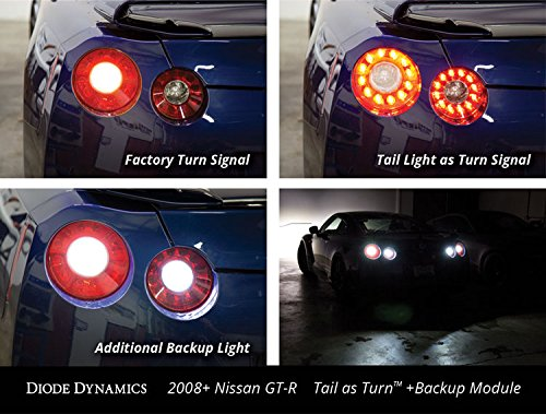 Tail as Turn +Backup LED Module for 2008-2017 Nissan GT-R w/ HP48
