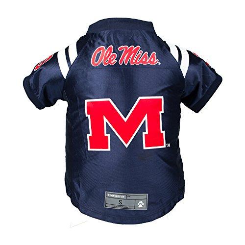 NCAA Ole Miss Rebels Premium Pet Jersey, Medium