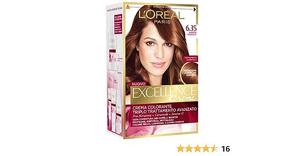 Loreal - 3 x l oreal excellence creme 6.35 marron chocolat ...