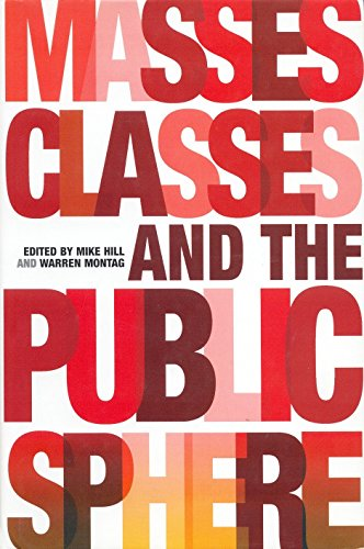 Book cover from Masses, Classes and the Public Sphere