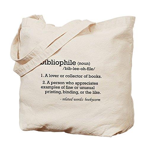 CafePress–bibliophile definición–Gamuza de bolsa de lona bolsa, bolsa de la compra