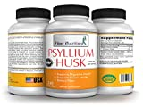 Fiber nutrition – Psyllium Husk- 1450 mg Per serving- 240 capsules – Dietary Fiber supplement-Healthy Digestion, maintenance, regularity, Balance blood sugar.