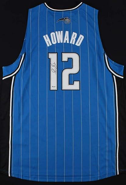f824358f0698b Dwight Howard Autographed Signed Memorabilia Orlando Magic Adidas ...