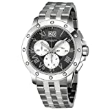 Raymond Weil Men's 4899-ST-00668 Tango Grey Chronograph Dial Watch