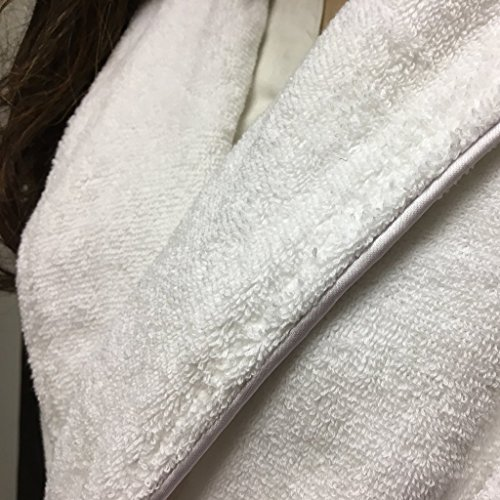 [해외]유기농 목욕 가운. /Organic Bath robe. Terry style absorbent 100% Certified cotton. Pure and Elegant