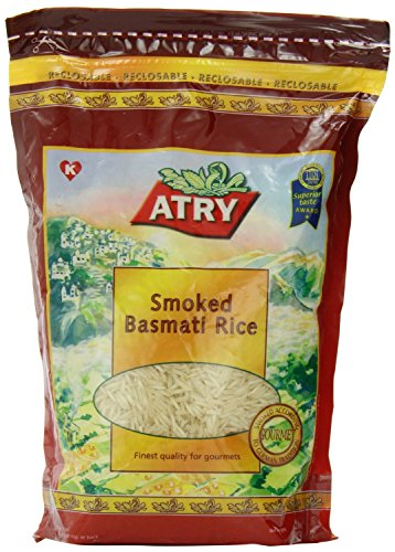 Atry Smoked Basmati Rice 2 Lb (Pack of 2) by ATRY