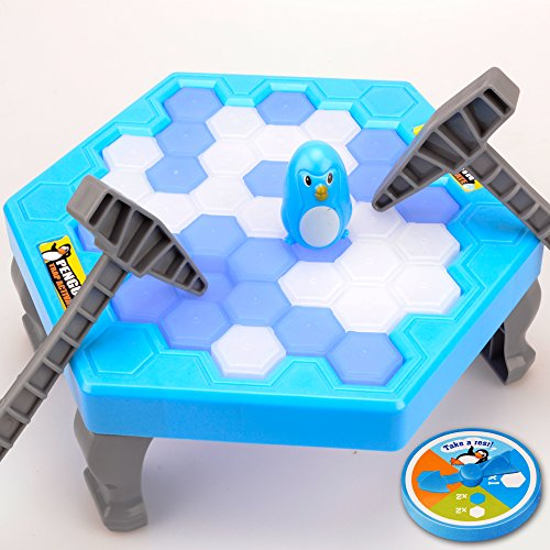 Penguin Ice Cubes Table Game -   Balance Ice Puzzle Save Penguin Icebreaker Beating Interactive Games for Boys Girls by Hanmun (Games For 4 Year Old Boys)