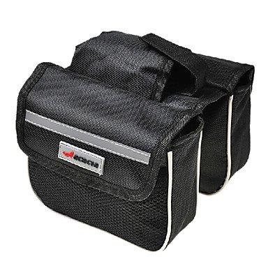 ZXC/ Akazien 600d Polyester-Gewebe aus 210D Polyester-Futter schwarz eva Fahrradrahmentasche