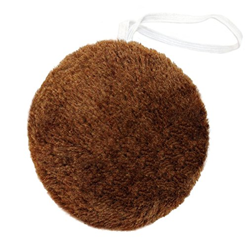 [SeasonsTrading Round Brown Plush Animal Tail ~ Halloween Bear Costume Accessory] (Fun Cheap Easy Halloween Costumes)