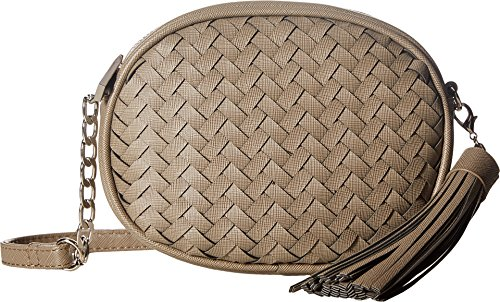 deux-lux-womens-sullivan-oval-weave-crossbody-with-tassel-grey-crossbody-bag