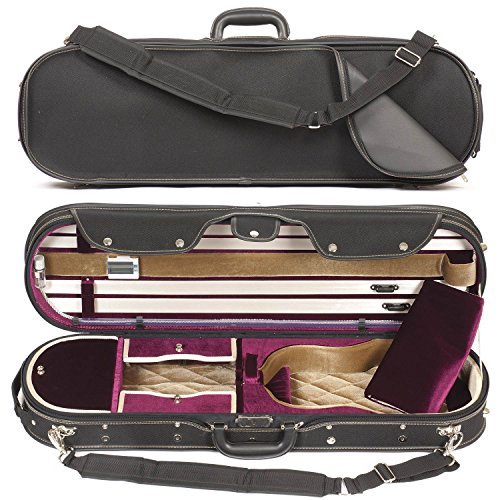 Core 575 Elliptical 4/4 Violin Case - Red Velvet Interior