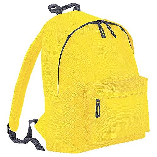 Graphite Grey BagBase BG125 Fashion Yellow Backpack 0zwXfvIq