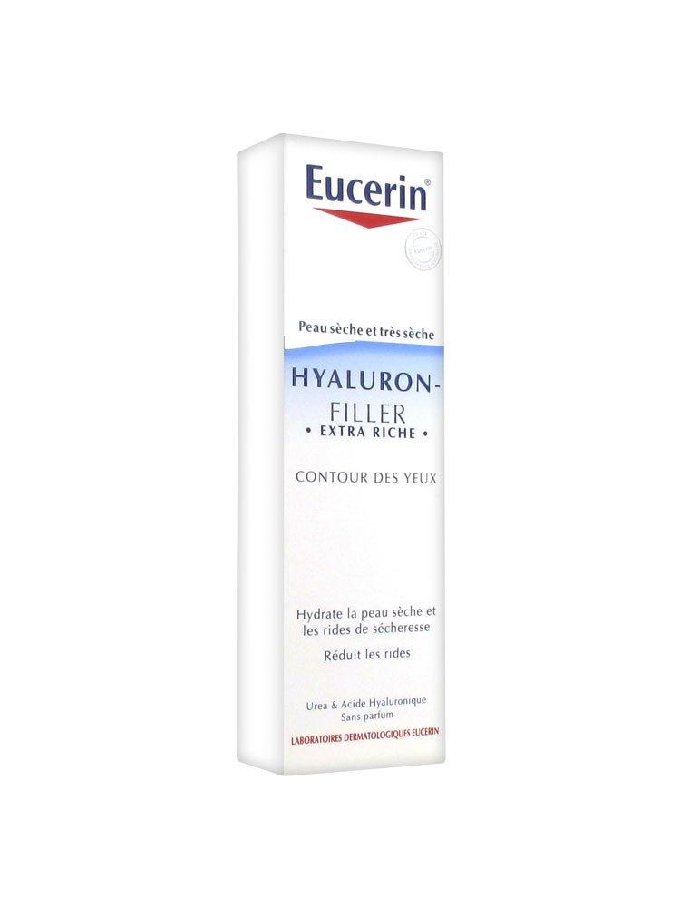 Eucerin Hyaluron-Filler Extra Riche Contour des Yeux 15 ml 7651