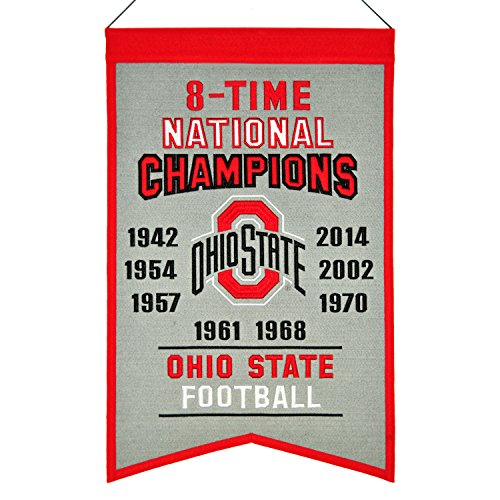 State Buckeyes 7 Time Champions Banner