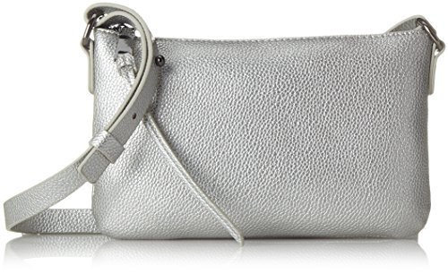 PIECES 17087752, Bolsos bandolera Mujer, Silber (Silver Colour), 5x14.5x24 cm (B x H T)