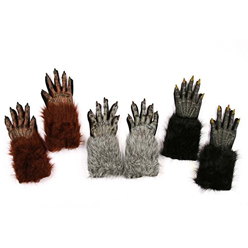 Fun World Werewolf Hands Gloves