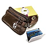 Money Belt for Amazing travel experience - Perfect travel document organizer and Passport Holder for women & men - Comfortable, Secure & water resistant Travel wallet with RFID blocking - A Must have fanny pack Bundled with a VIP Credit Card Holder