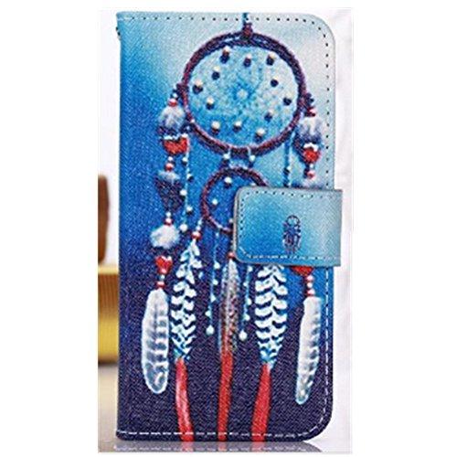 EVTECH(TM) Für Apple iPhone 6/iPhone 6s 4.7 Zoll PU Leder Cover Herz Ledertasche Elegant Girl Bling Shining Glanz Farbig Magnetverschluss Magnetic Bookstyle Multi-Function Protektiv Kunstleder Silikon