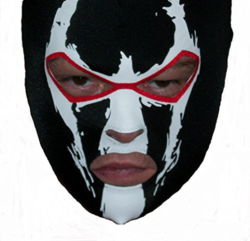[Bane Mask Arkham costume Batman dark knight HANDMADE IN USA spandex lycra fancy dress party] (Batman Costumes Arkham Knight)